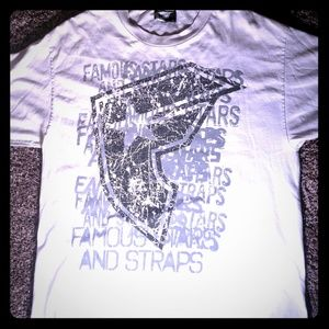 Famous stars and straps mens l T-Shirt